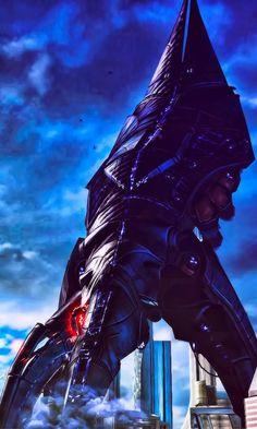 Mass Effect 3 Reaper Capital Ship