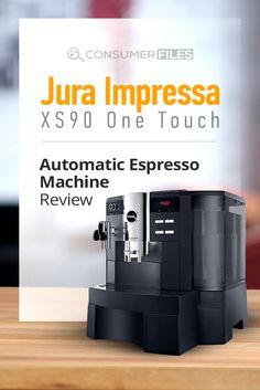A Guide to the Jura Impressa One Touch Espresso Machine Coffee Magazine, Espresso Machine Reviews, Automatic Espresso Machine, Small Kitchen Appliances, Drip Coffee Maker, Touch, Law School, Coffee Making Machine