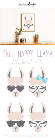 Download free Llama faces SVG cut files, compatible with Cameo Silhouette, Cricut, and other major cutting machines. Perfect for DIY craft project for upcoming valentine's day or special gifts for your loved ones. Llama SVG cut file, lama SVG cut file, Animal SVG cut file, Free SVG cut file