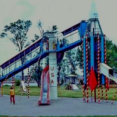 Rocket Slide Park circa Where the hell did all of these go? Waterloo Iowa, Stuff Stuff, My Past, Back In The Day, My Childhood, Letting Go, Diana, Vintage Items, Chicago