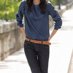 Fiche couture: Une blouse, 3 looks avec patron T38 42 46 ET TUTO