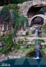 شلّال افقا   Afqa waterfall     Afqa waterfall is the sacred source of the Adonis River (modern Nahr Ibrahim), where the waters emerge from a huge grotto in a cliff 200 meters high. It is located in the mountains of Lebanon, about 20 kilometres from the ancient city of Jbeil and 71km from Beirut.   The river emerges from a large limestone cave in the cliff wall which stores and channels water... http://fb.com/WeAreLebanon