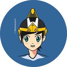 kandapati character #emha #illustration #character