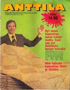 Anttila, Erikoistarjousluettelo 4/1974 Teenage Years, Old Toys, Retro Vintage, Nostalgia, The Past, Old Things, Childhood, Ads, Memories