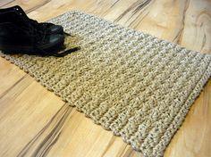 Etsy listing at https://www.etsy.com/listing/116437058/sale-doormat-jute-crochet-rug-floor-mat