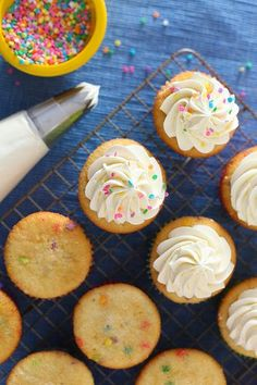 Cupcake Basics: Whipped Vanilla Buttercream   Annie's Eats by annieseats, via Flickr