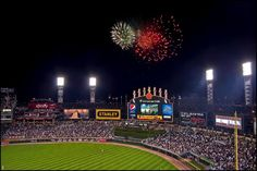 Cellular Field - Home of the Chicago White Sox (Stadium #7). Some modifications have been done since this picture was taken.