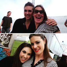 Floor Jansen (Nightwish) and Elize Ryd (Amaranthe)