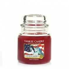 God Bless America™ (Online & Catalog Exclusive) : Medium Jar Candle : Yankee Candle