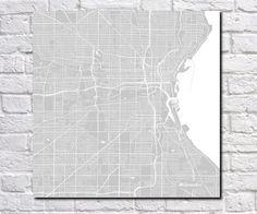 Twickenham, England City Street Map Print Custom Wall Map | Custom ...