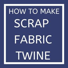 Scrap Fabric Projects, Fabric Scraps, Crochet Border Patterns, Weaving Loom Diy, August Challenge, Crochet Cord, How To Make Rope, Upcycled Crafts, Fabric Jewelry