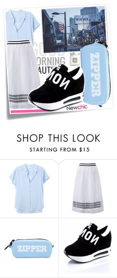 """""""Lovenewchic"""" by k-lole ❤ liked on Polyvore featuring Xirena and Laura Mercier"""