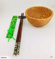 Wood Bowls, Chopsticks, Acacia, Coconut, Tableware, Gifts, Wooden Bowls, Dinnerware, Presents