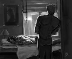 Winter Dawn. First Avenger. by DakotaLIAR(MisterLIAR) | Bucky sleeps a lot when he first comes back and is recovering from what Hydra did to him. Steve likes to keep an eye on him, both to keep the nightmares at bay and to reassure himself, about every five minutes, that Bucky is real and breathing and back in his life.
