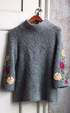 4c131ba81afcc Rosevine Sweater Tunic  anthrofave Tunic Sweater