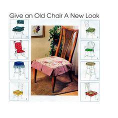 McCalls 3896 Chair Seat Cushion Decor