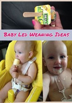 Baby Led Weaning Food Ideas - Tips for Starting Baby Led Weaning