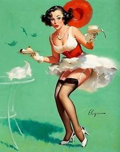 vintage burlesque pin up - Google Search