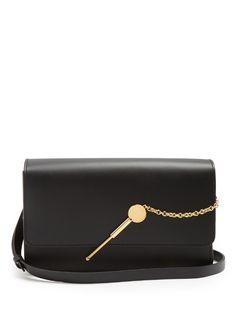 SOPHIE HULME . #sophiehulme #bags #shoulder bags #leather #lace #
