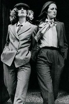 Image result for 1970s androgynous fashion More