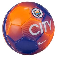 Manchester City Skills Trikseball Lilla/Oransje