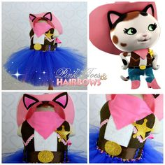 Sheriff Callie Dress- Sheriff Callie costume- Sheriff Callie tutu dress by GlitterMeBaby on Etsy https://www.etsy.com/listing/197148181/sheriff-callie-dress-sheriff-callie