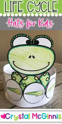 Frog Activities, Sequencing Activities, Kindergarten Activities, Preschool Kindergarten, Frogs Preschool, Preschool Crafts, Science Crafts, Cycle For Kids, Life Cycle Craft