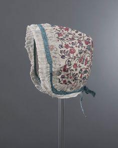 babymutsje van Indiase sits, Groningen, ca. 19de eeuw 18th cent. fabric ?
