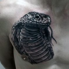King Cobra Snakes Tattoo 90 cobra tattoo designs for men - kingly ...