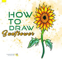 How To Draw Sunflower Here is the stepwise tutorial that can guide you to draw Sunflower easily.   #Sunflower #flower #kids #school #game #draw #sketching #sketch #color #coloring #colour #tutorial #creatives #kids #forkids #drawingbook #sketchbook #pencil #learning #arts #creatives4kids