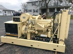 Freight and Taxes extra Please contact us for more information Used Generators For Sale, Abbotsford Bc, Equipment For Sale, Diesel, Ship, Model, Scale Model, Template
