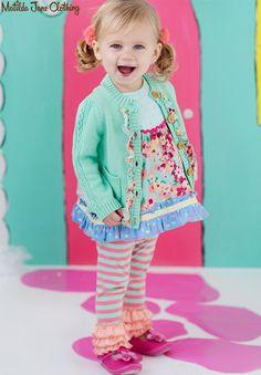 NWT Matilda Jane Irresistible Cardi Cardigan Size months Happy and Free Little Fashion, Baby Girl Fashion, Toddler Fashion, Kids Fashion, Girls Dream Closet, Girl Closet, My Little Girl, My Girl, Baby Lovies