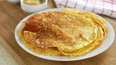 Havrepannekaker Sweet Tooth, Pancakes, Bacon, Recipies, Deserts, Brunch, Sweets, Snacks, Meals
