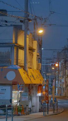Aesthetic Japan, City Aesthetic, Japanese Aesthetic, Aesthetic Anime, Anime Scenery Wallpaper, Aesthetic Pastel Wallpaper, Aesthetic Backgrounds, Aesthetic Wallpapers, Wallpaper Paisajes