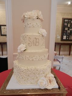beige and gold wedding cake wwwcheesecakeetcbiz wedding cakes charlotte nc