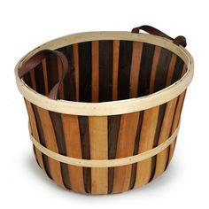 Woodchip Large Utility Basket - Brown