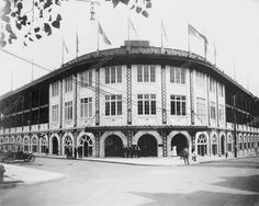 Forbes Field Baseball Stadium Pittsburgh 1909 Vintage 8x10 Reprint Of Old Photo
