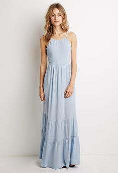 Rooftop Icing Light Blue Maxi Dress | Trendy tops, Zara and Maxi ...