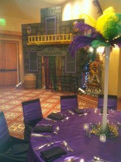 mardi gras decorations | Themers Mardi Gras Theme Party Decor Rental