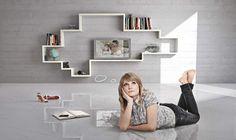 LagoLinea by Daniele Lago http://www.lago.it/lagolinea.html #Lago, #Interiors,#Colour, #Design, #Lightness, #Innovation #Living, #Storage