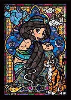 Jasmine Stained Glass