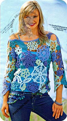 fonte: Revista Sandra Moda Croché Especial, n° 11, edição européia