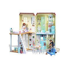 Barbie Happy Family Sounds Like Home Smart House — QVC.com