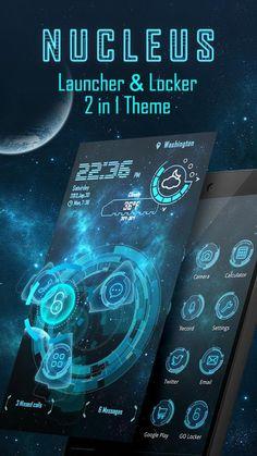 Nucleus 3D Launcher & Locker – Screenshot