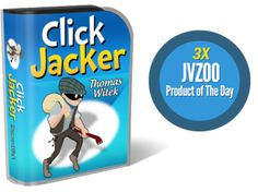 Click Jacker 4.0 (Unlimited License) Review: Outstanding Wordpress Plugin, The Former Silicon Valley Software Developer Reveals the Secret to Affiliate Commissions with a Few Clicks of a Mouse To Get Profit from the 96% of web traffic With Powerful Exit Intent and Re-Targeting Technology – By Thomas Witek.