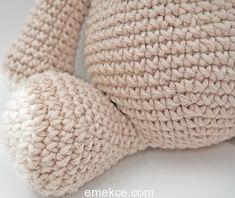 Amigurumi Crochet Sevimli Hipopotam Free Pattern Yapılışı