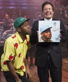Jimmy and Tyler the Creator