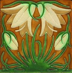 Motawi art nouveau tile