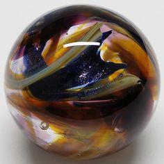 Winlock Marbles ~ Contemporary Handmade Marble ~ Cory Anderson Glass Art Marbles #WinlockMarbles #ContemporaryArtGlass