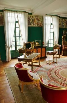 Chateau Malmaison Frieze room